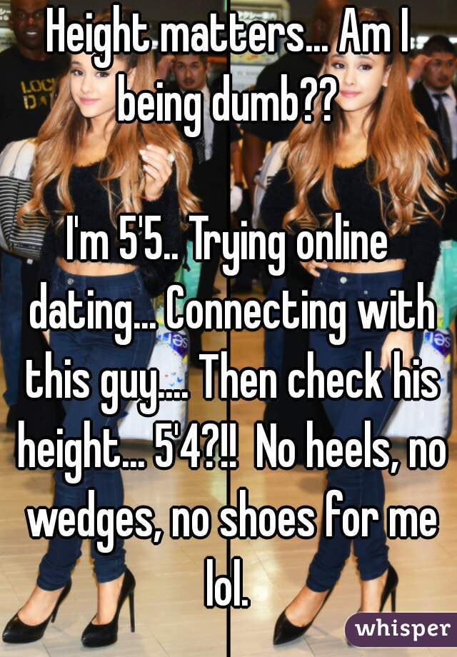 dating a 5 4 guy