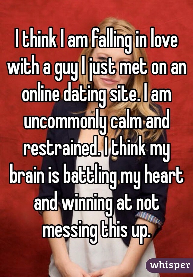 Falling in love dating site