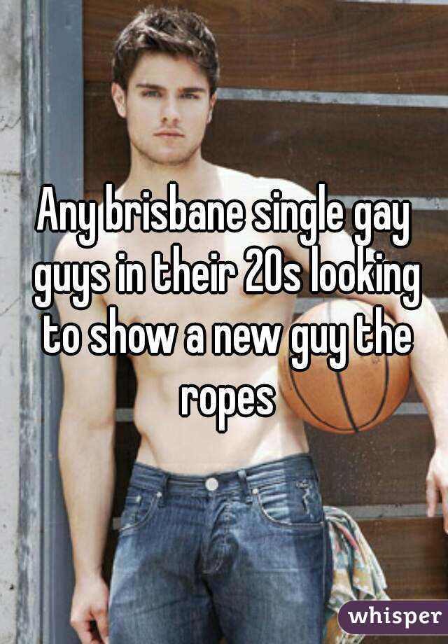 Gay guys brisbane