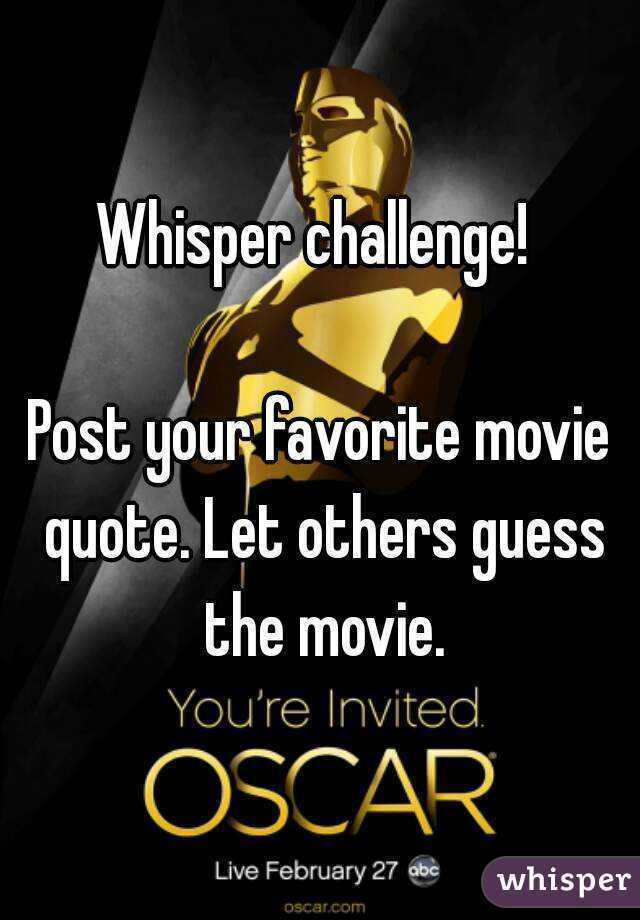 what is your favorite movie and why