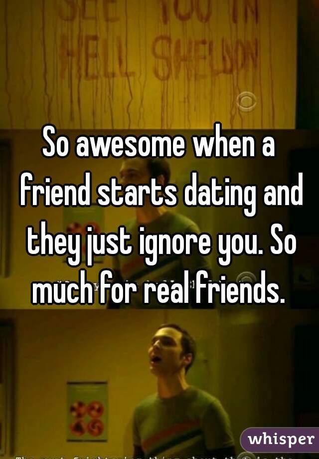 When friends start dating