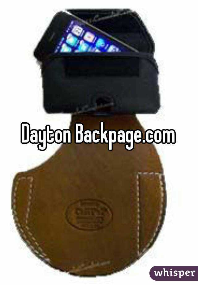 Backpagecom dayton