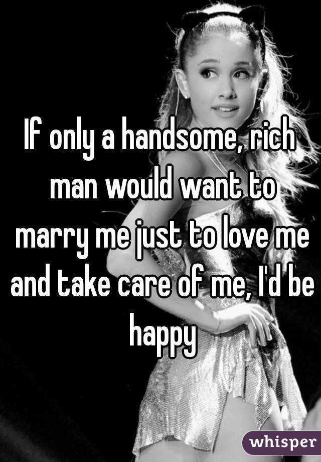 Marry A Rich Man Hookup Site