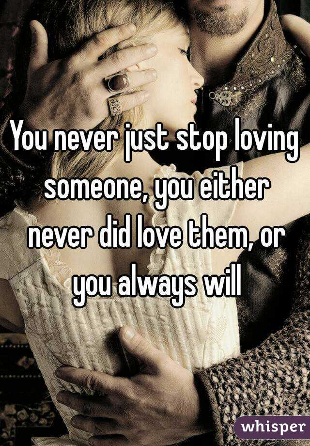 what to do when you stop loving someone