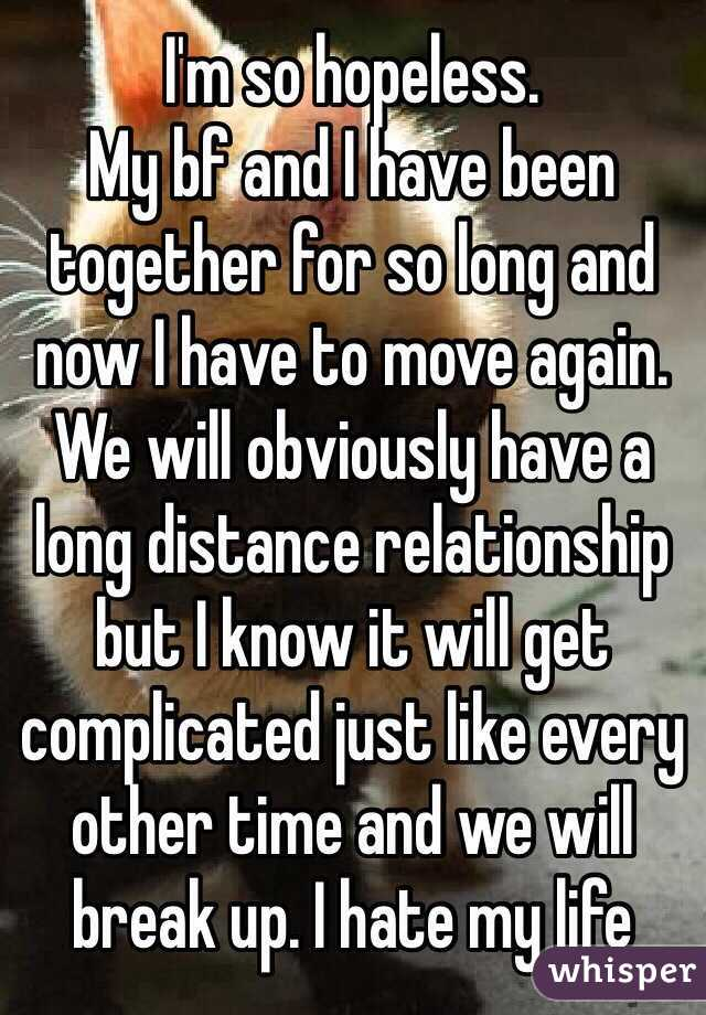 Long Distance Relationship When To Move