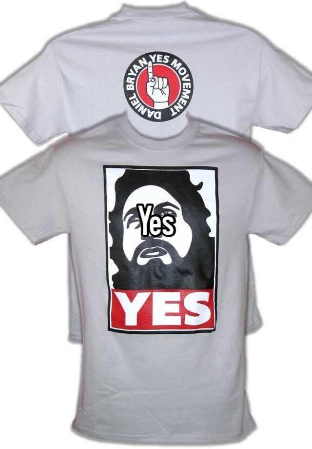 Daniel bryan yes shirt