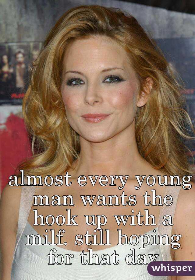 Something Milf 30 something women think, that