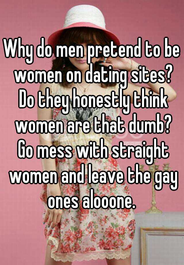 Dumb dating sites