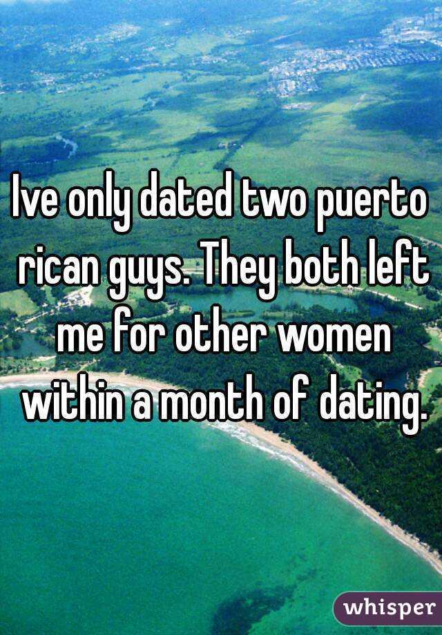 dating puerto rican guy