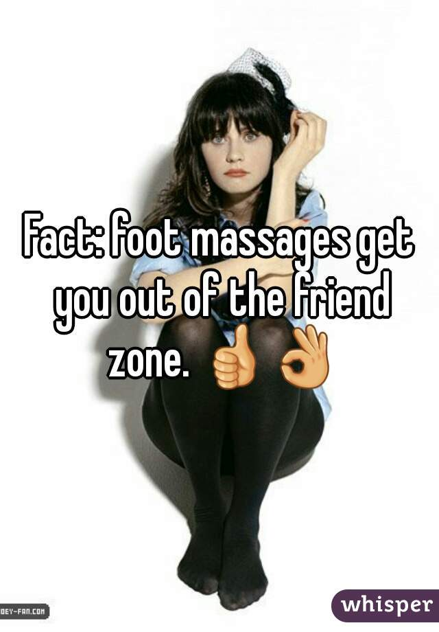 Friend zone foot massage