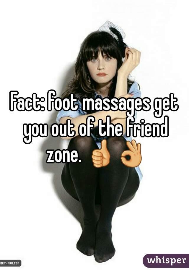 Friend zone foot massage