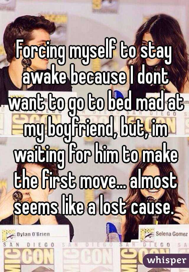 Forced Boyfriend To Stay