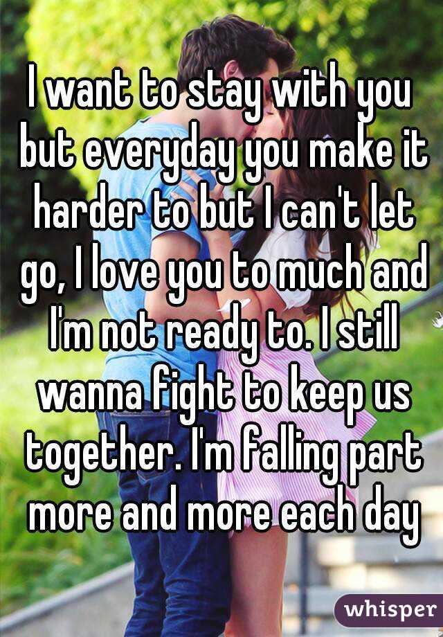 Wants To Make Love When I Wanna Fight