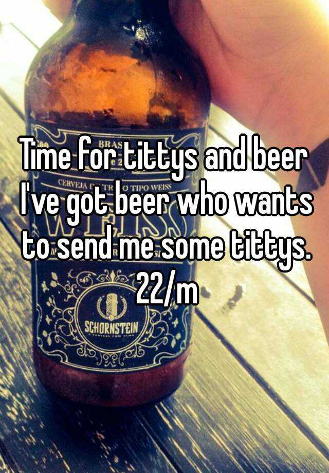 Tittys and beer
