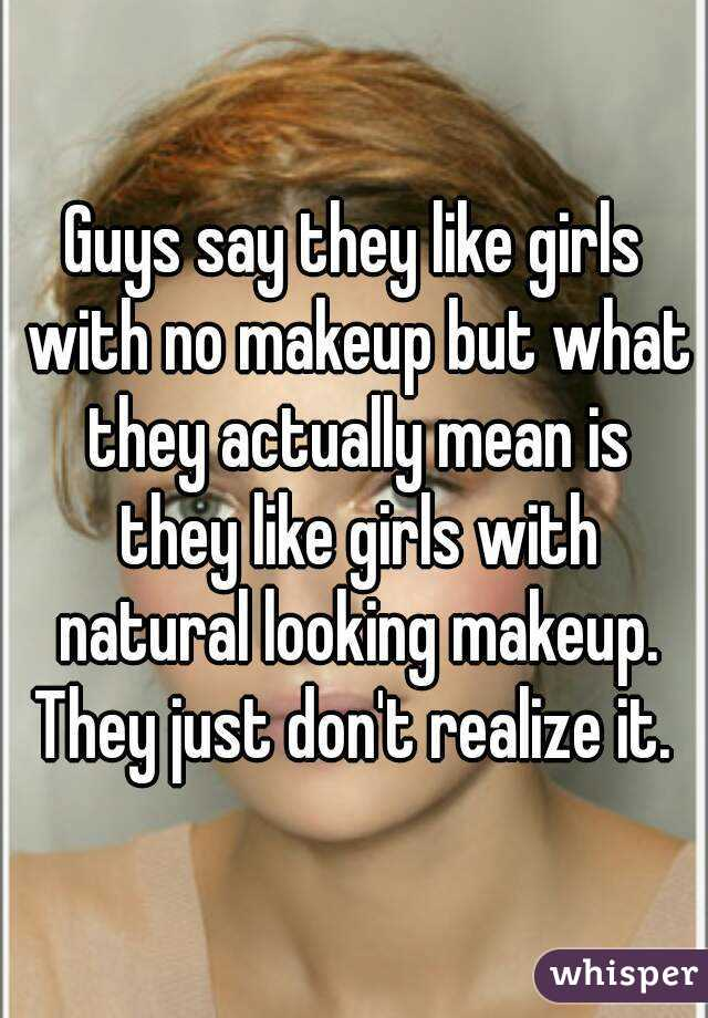 what guys say