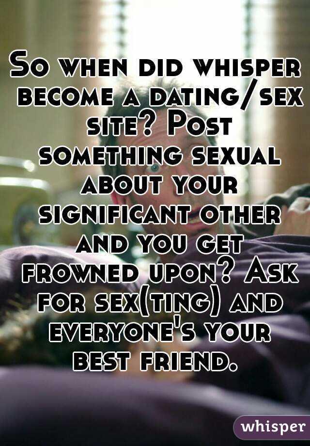 Best site to get sex