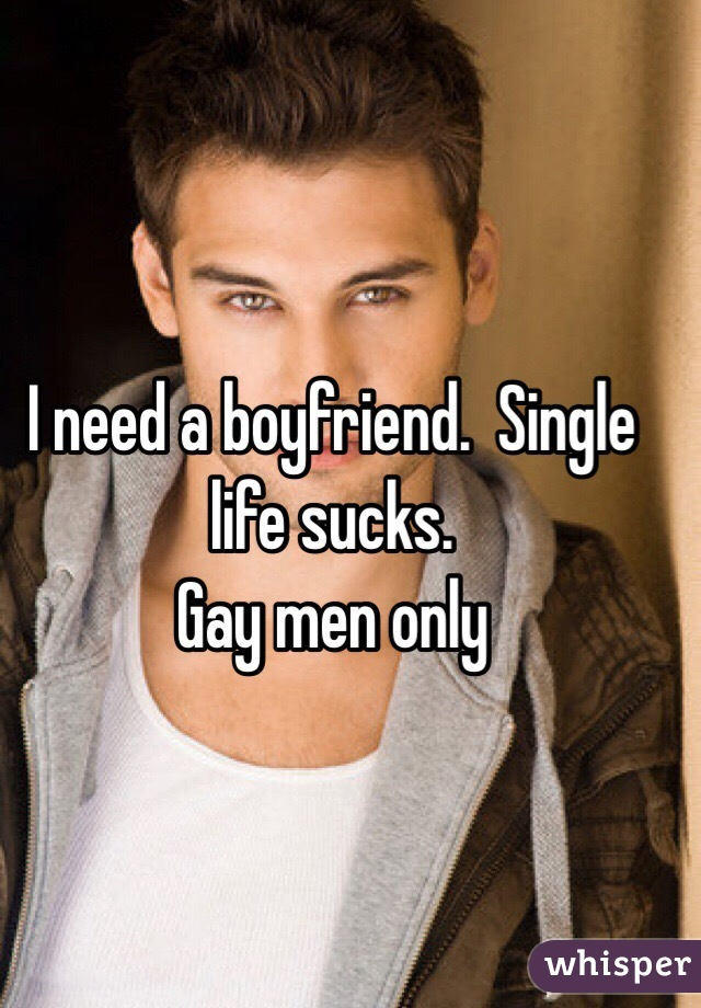 Single life for men