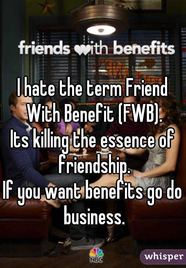 Term fwb