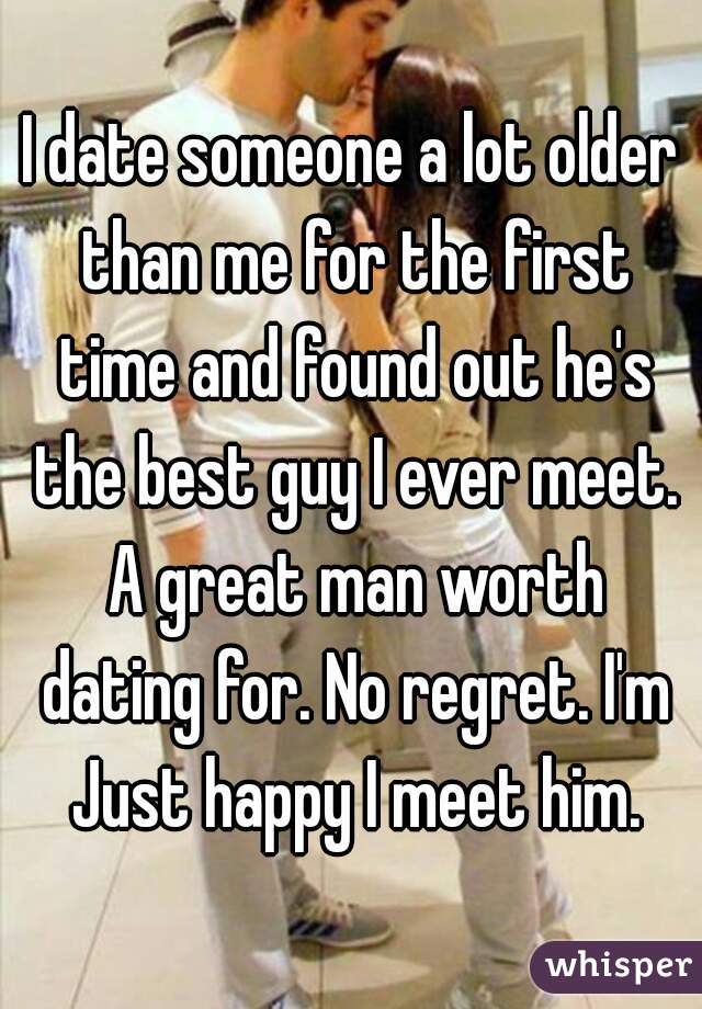 First time dating ever