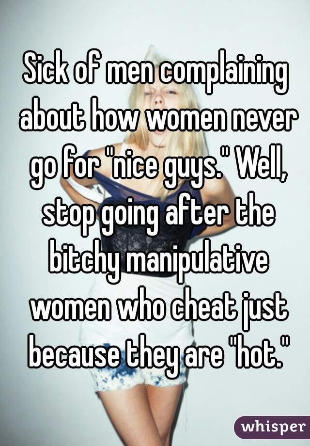 women manipulate men