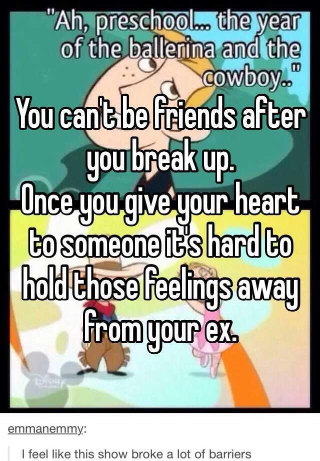 Hookup Your Best Friend Then Breaking Up