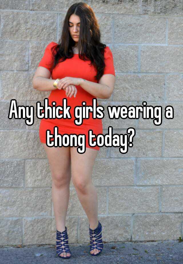 Green thong bbw