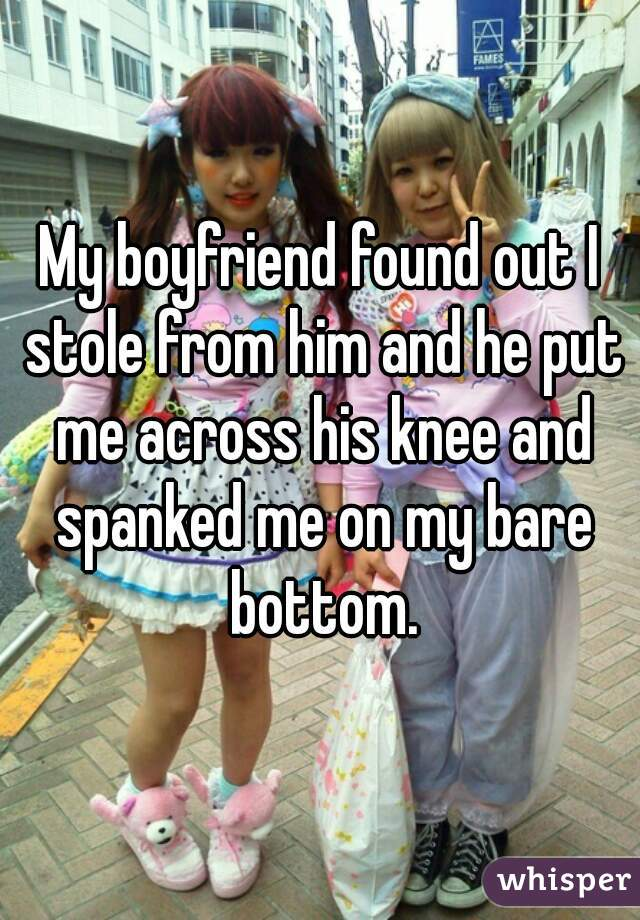 Spank my boyfriends bottom