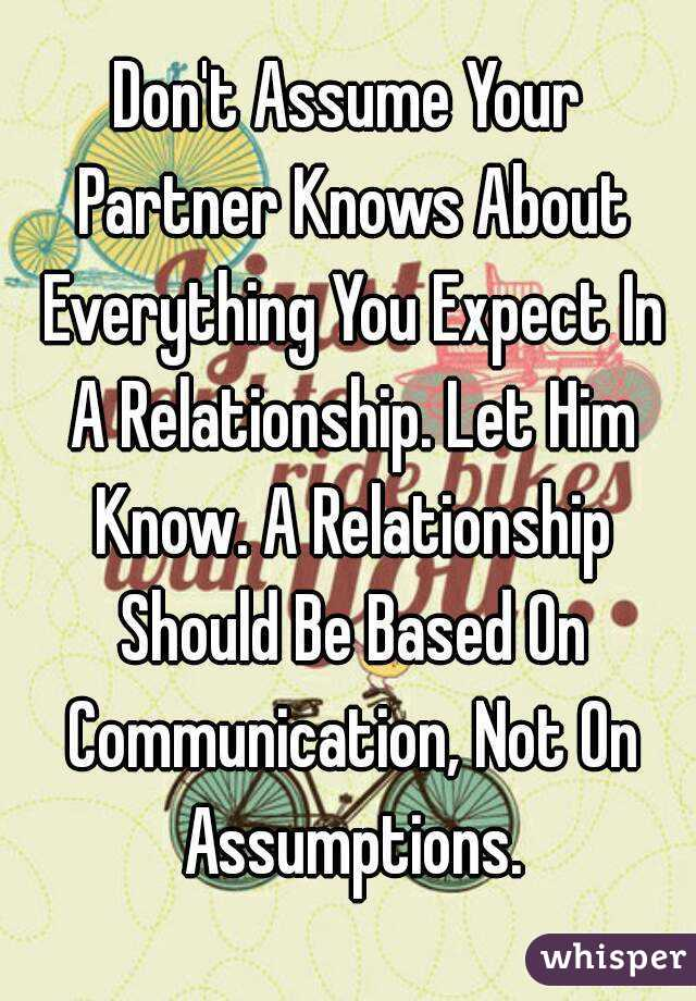 what to expect from your boyfriend in a relationship