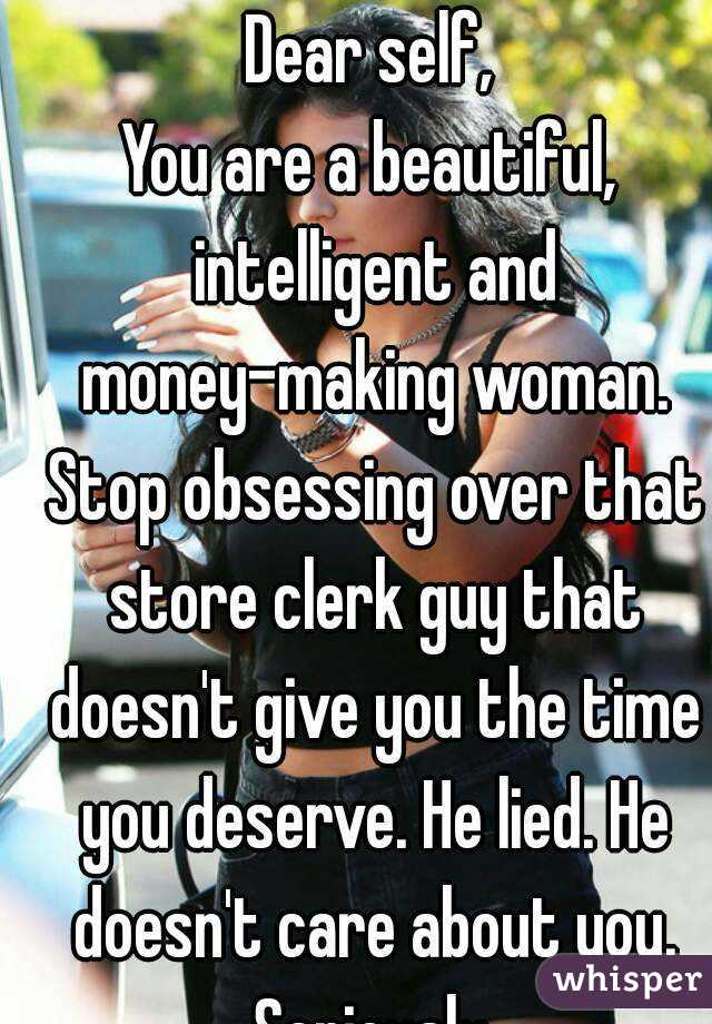 How To Stop Being Obsessive Over A Guy