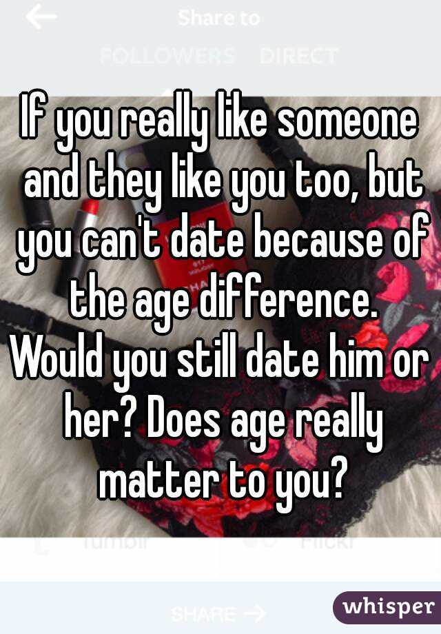 does age difference matter in dating