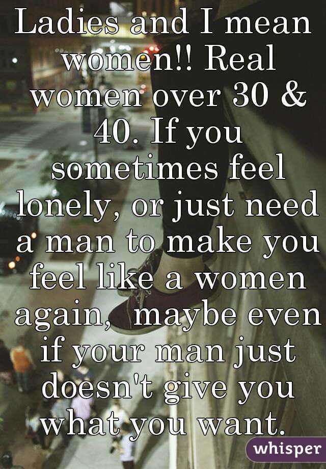 you like a man Make feel