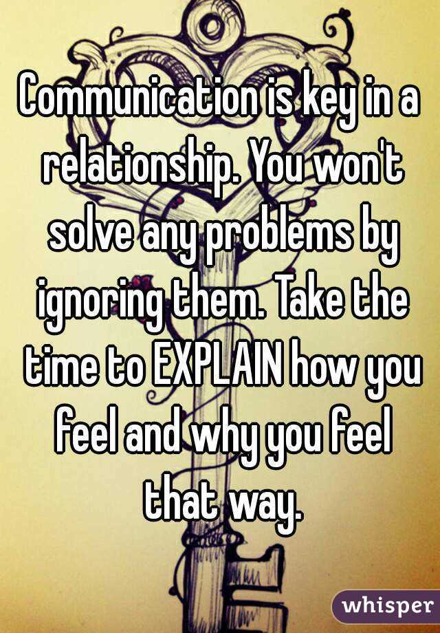 How To Resolve Communication Issues In A Relationship