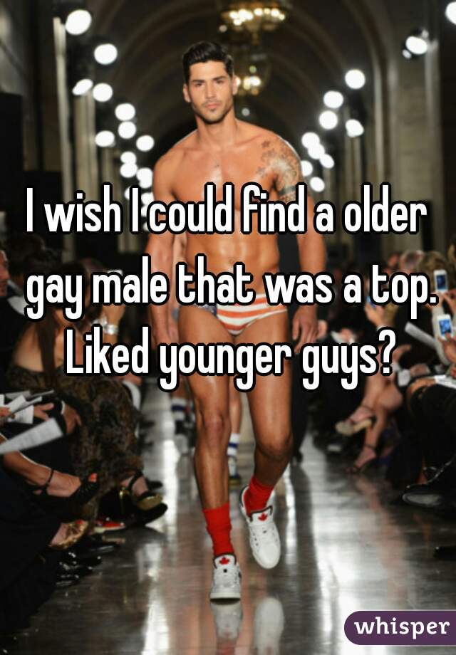 find older gay men