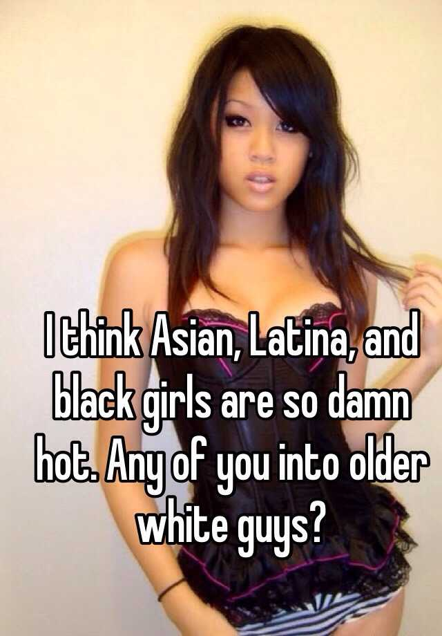Hot asian black