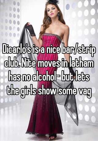 Something is. Nite moves strip club not