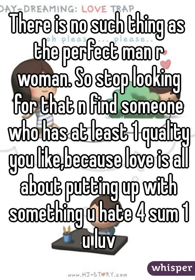 how to find the perfect man