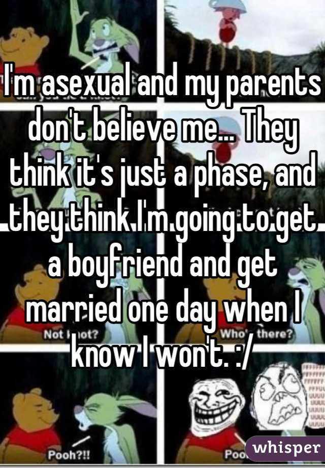 I m just asexual marriage