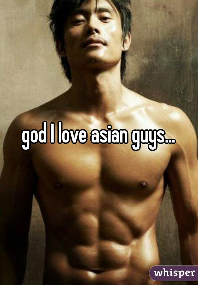 Can not asian guy i love