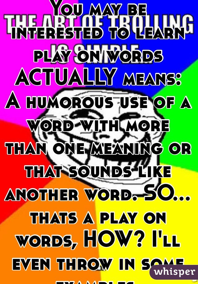The Word Humorous