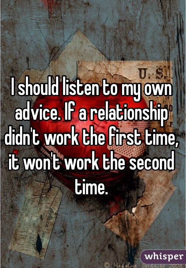 First time relationship advice