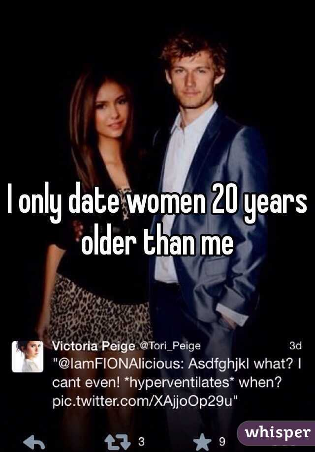 I Older Should Date Woman An could