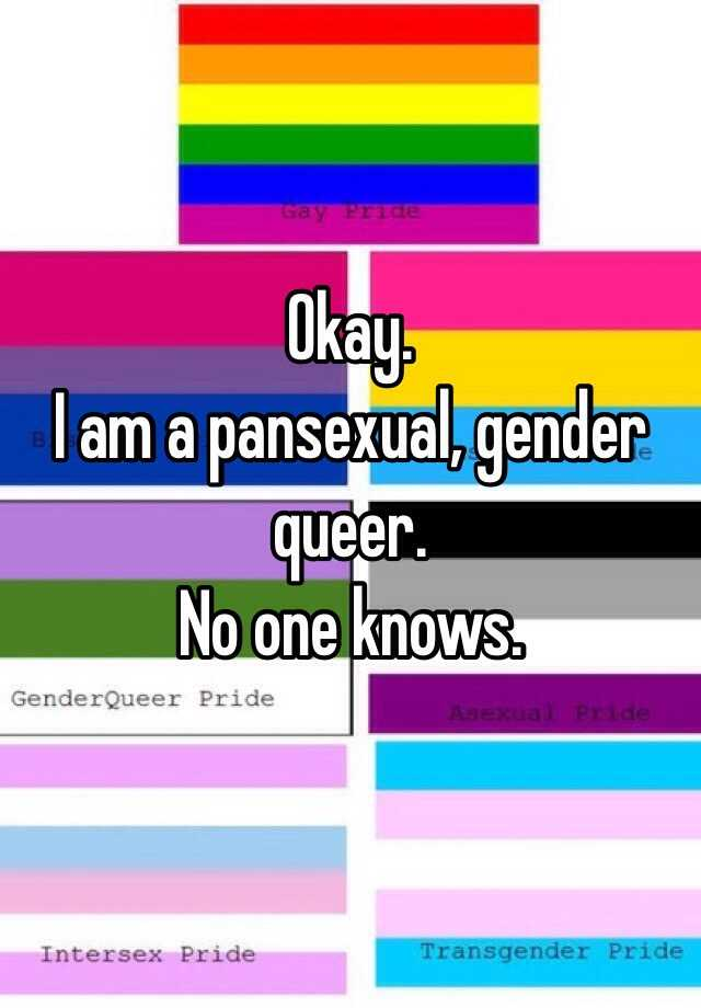 Difference between queer and pansexual