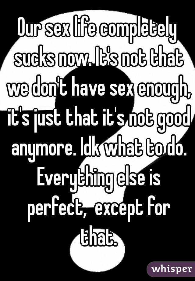 What is perfect sex