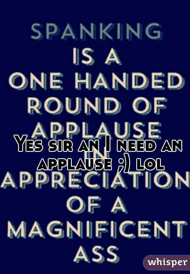 Yes sir an I need an applause ;) lol