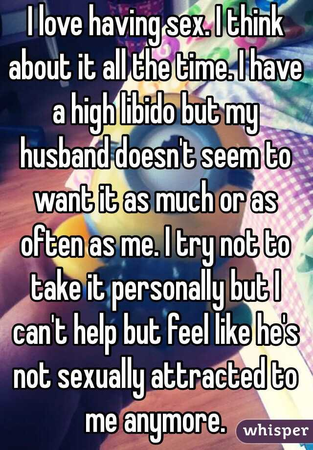 My husband does not want to have sex