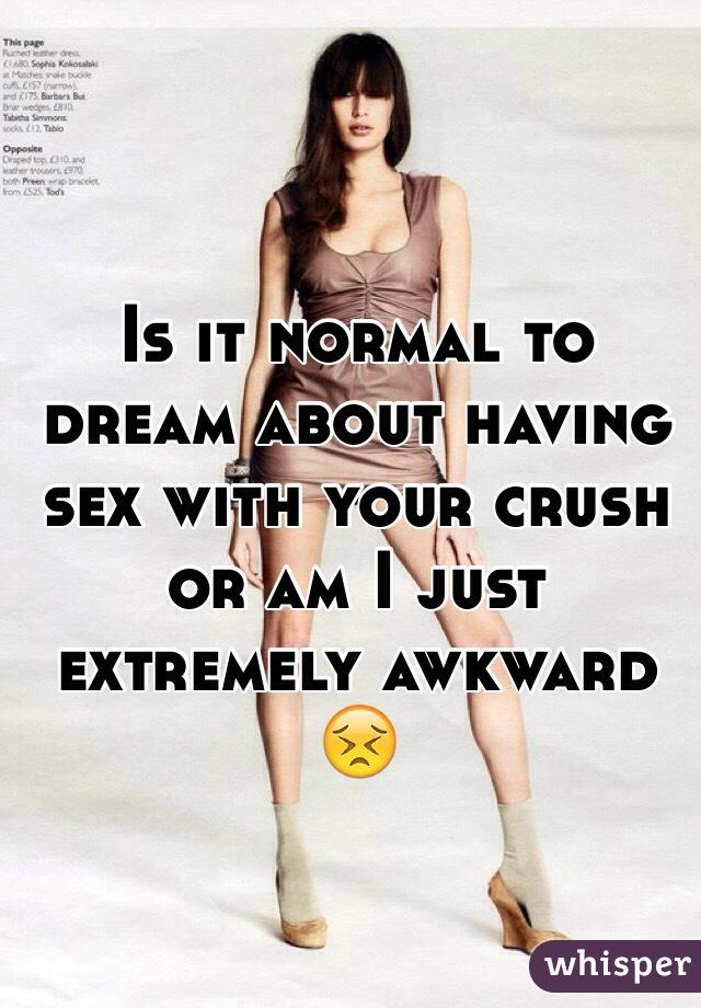 Dream of having sex