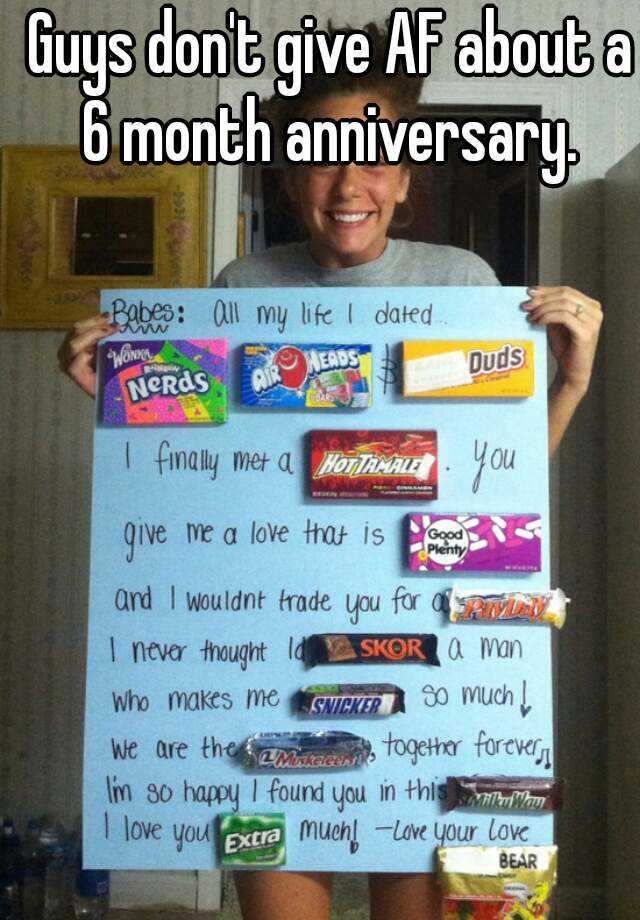 Things to get your boyfriend for your anniversary