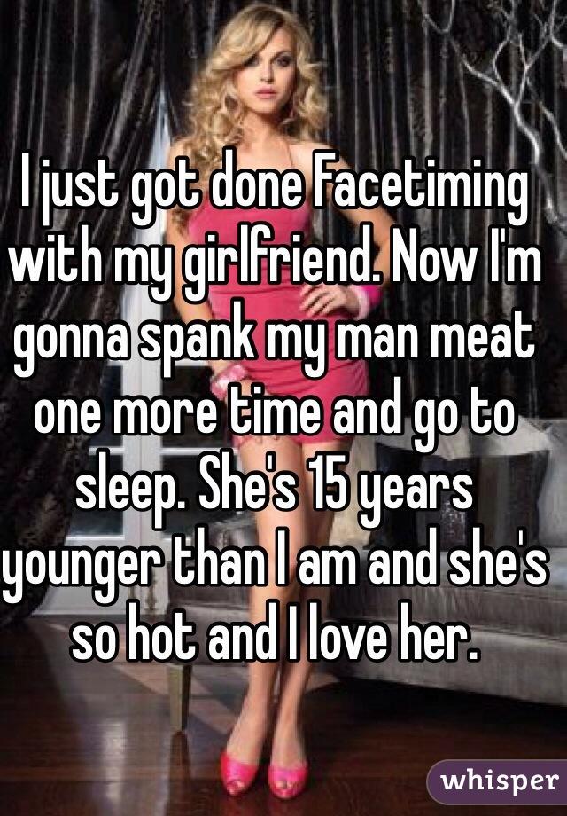my girlfriend spank I