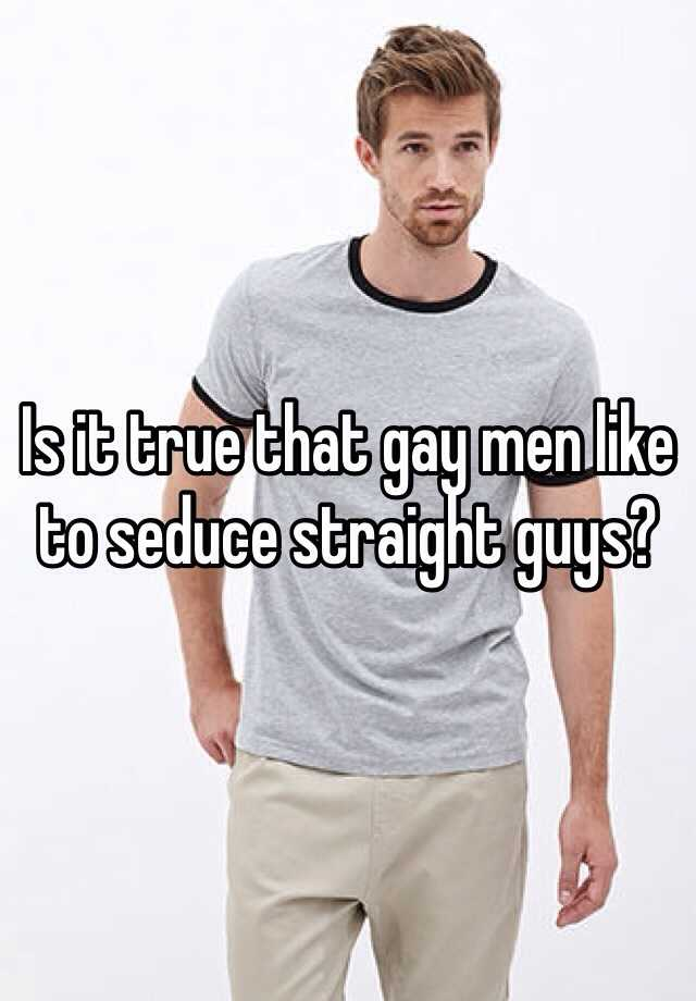 How to seduce gay guys