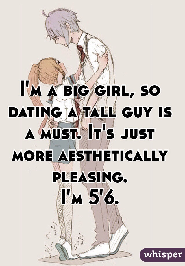 dating a big guy